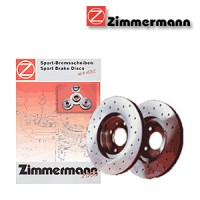 Zimmermann přední sportovní brzdové kotouče -nechlazené MCC CITY-COUPE (MC01)  -motor 0.6 -- rok výroby 07.98-